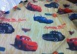 Cars-Vitrage-Stof-Goud